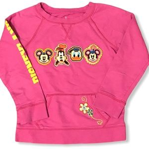 Disney Parks Disneyland Girls Pullover Sweatshirt
